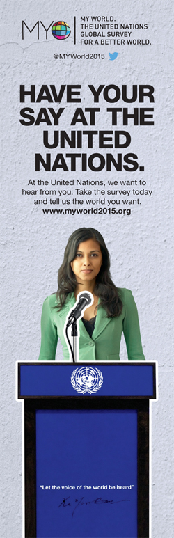 Have your say at the UN