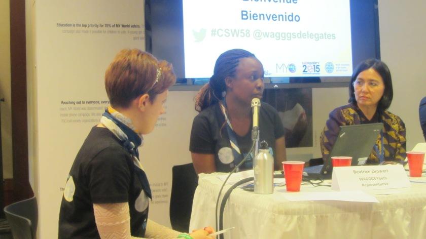 Beatrice Omweri, WAGGGs