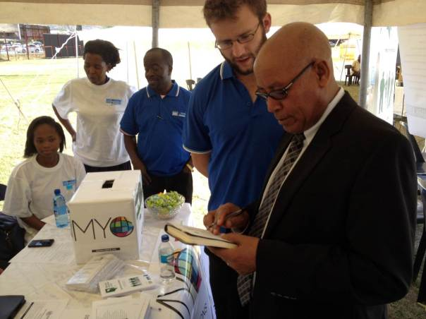 MYWorld Launch Lesotho