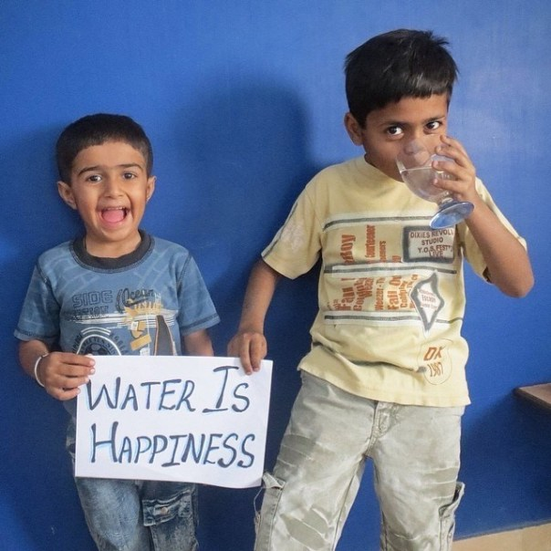 #WaterIs_example_2