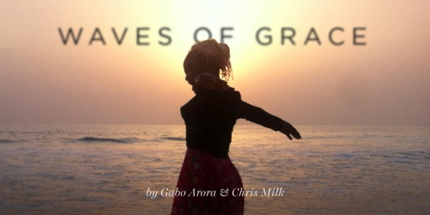 Waves of Grace - one of the two Virtual Reality films showcased at the WEFourm