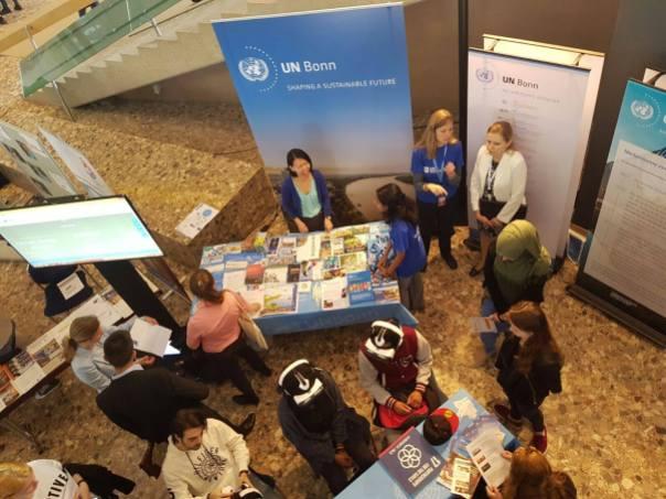 UN Bonn exhibit