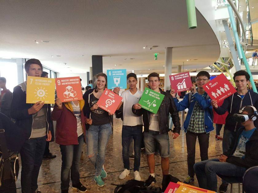 German youth support the SDGs